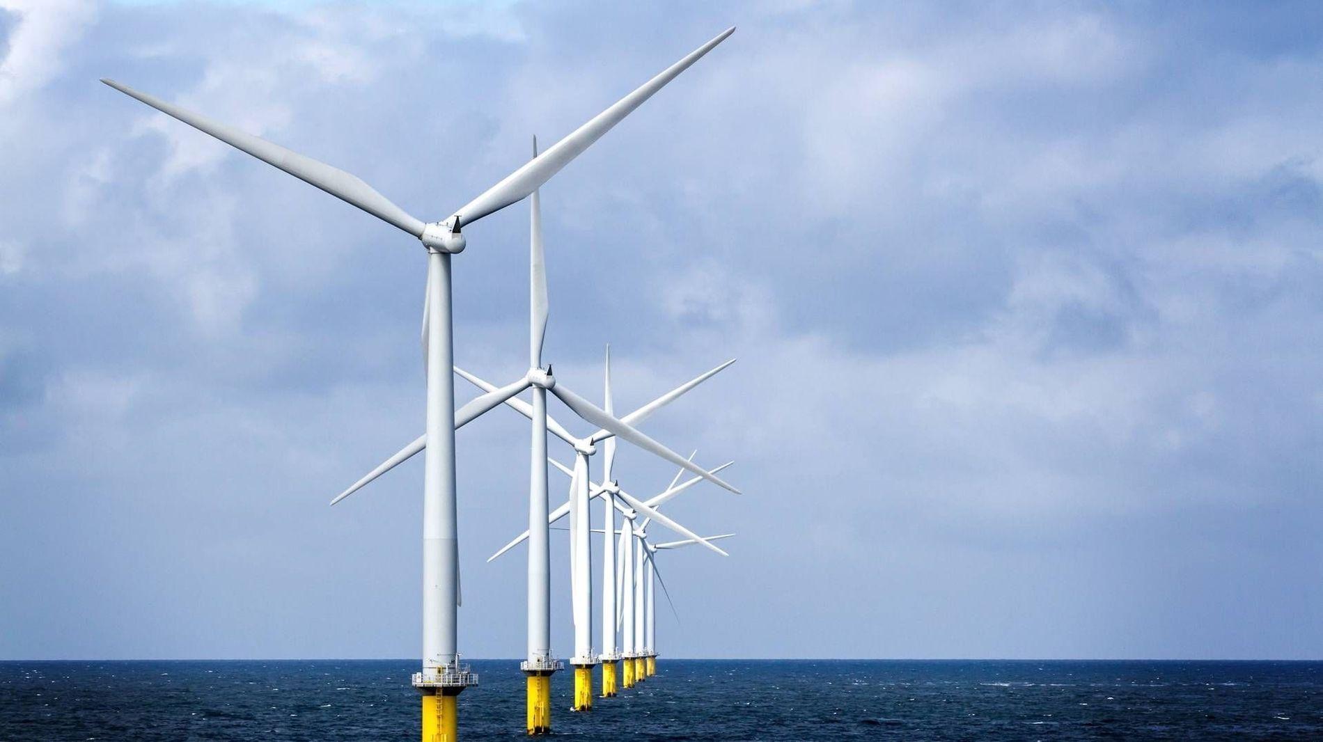 HAVVINDMØLLER: Kina forventer nå å ha bygget ut en havvind-kapasitet på 10 GW i 2020. Målet for 2015 er kraftig nedjustert.