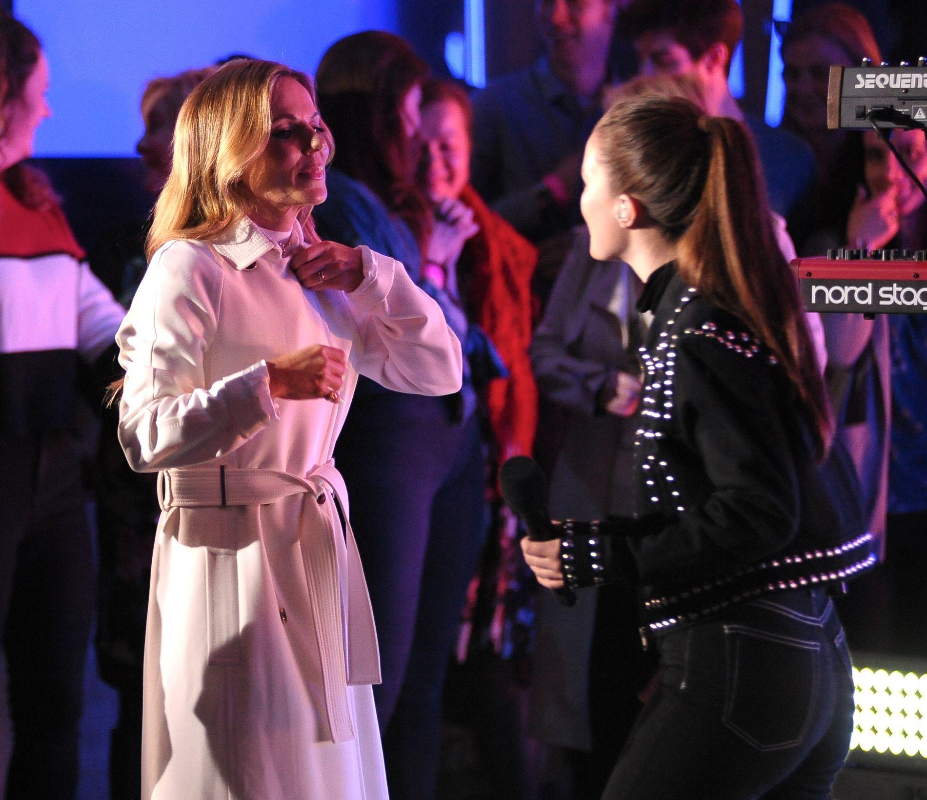 STJERNEMØTE: Geri fra Spice Girls (t.v.) og Sigrid.