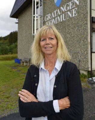 MANGLER TILLIT: Senterpartiets nye førstekandidat, Rita H. Roaldsen, sier partiet har mistet all tillit til Grindstein.