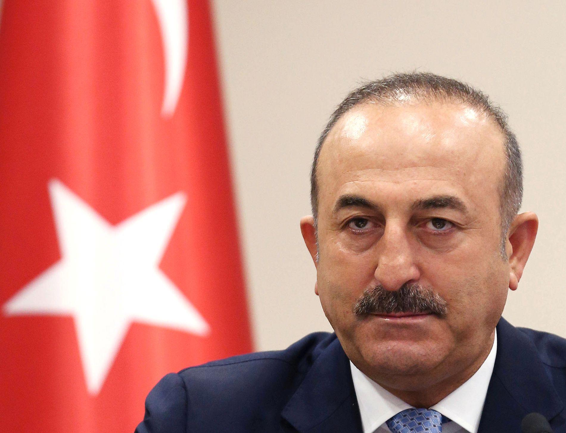 IKKE FORNØYD: Tyrkias utenriksminister Mevlüt Çavusoglu.