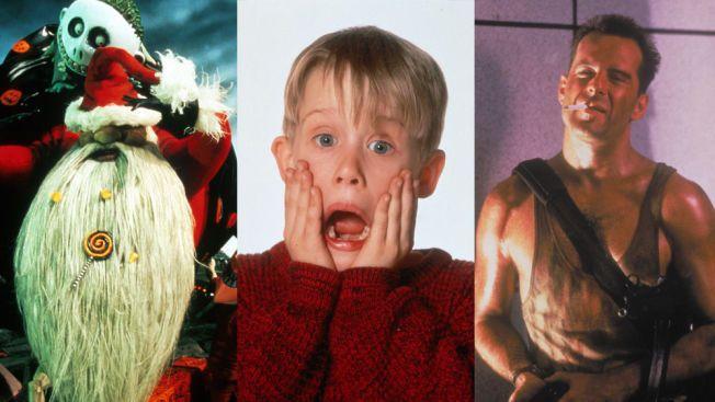 BLANT GODBITENE: «Et førjulsmareritt», «Alene hjemme» og «Die Hard».