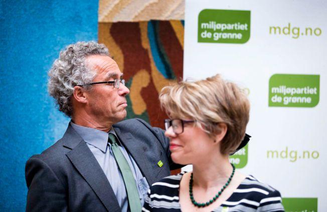 VERKEN ELLER: – Til de som fremdeles lurer på om De Grønne tilhører høyresiden eller venstresiden av norsk politikk, så gjentar vi gjerne svaret. Vi er verken røde eller blå. Vi er grønne, skriver talspersonene for Miljøpartiet De Grønne.