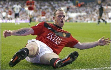 BEST i 2010: Skal du se Wayne Rooney. Foto: AFP