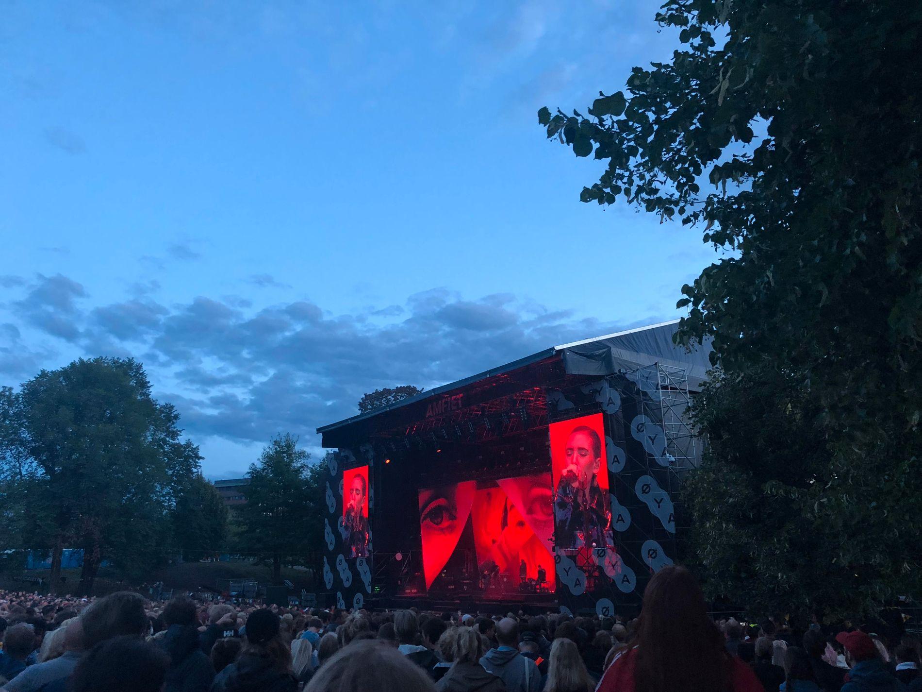 INGEN TOPP HEADLINER: Lykke Li  misbrukte sjansen i Tøyenparken.
