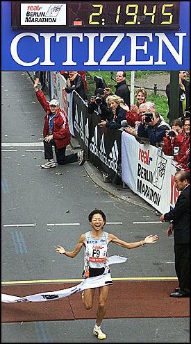 Ny verdensrekord i maraton – VG