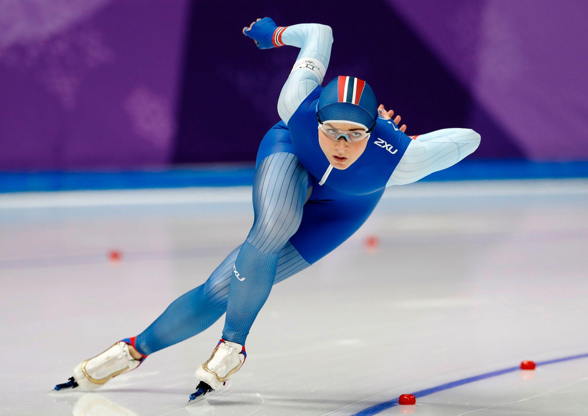 NEDTUR I OL: Hege Bøkko hadde håp om en god plassering på favorittdistansen 1000 meter i OL for 11 måneder siden (bildet). Hun endte på 14. plass.