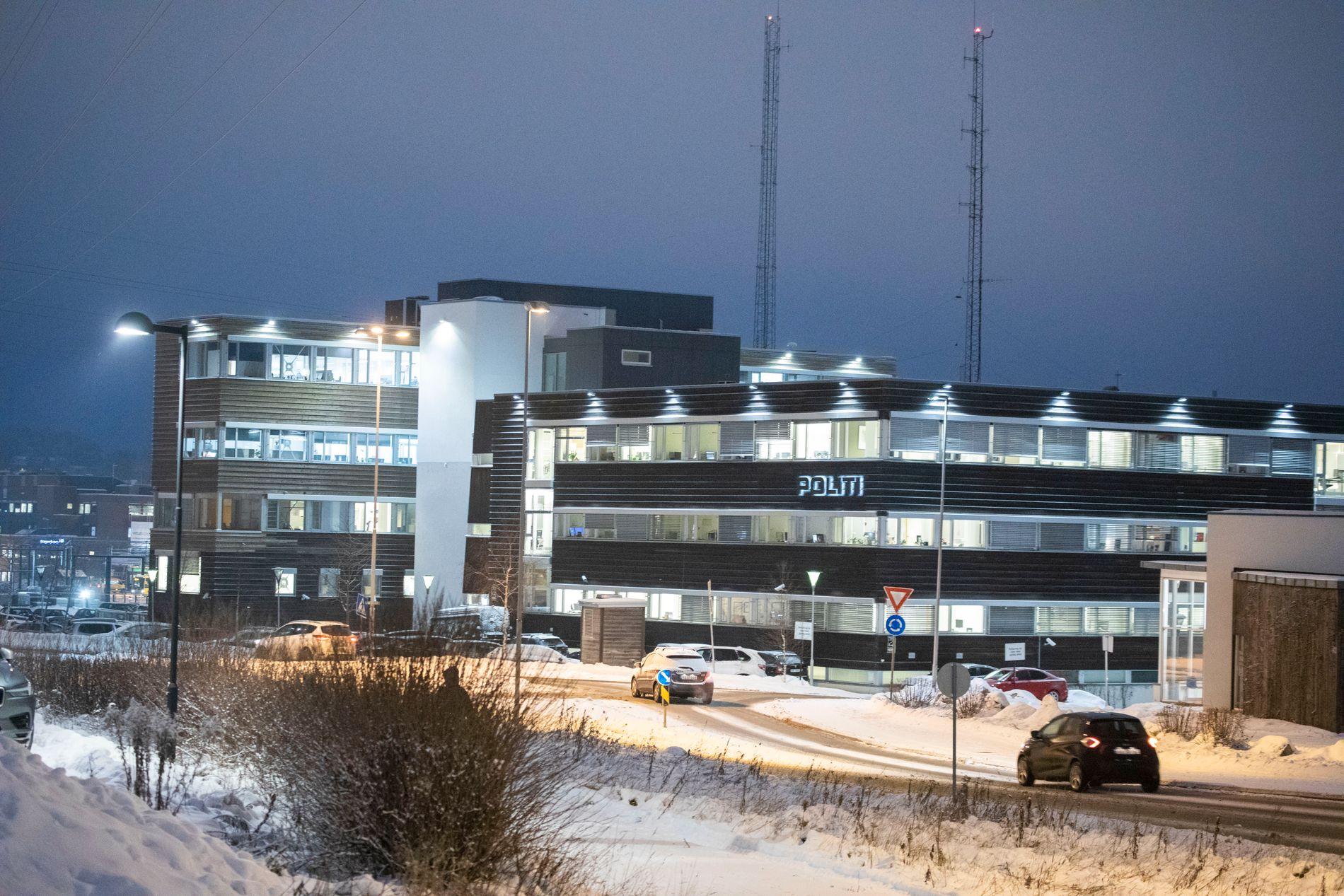 ETTERFORSKET: Øst politidistrikt, her ved politihuset i Ski, har etterforsket saken.
