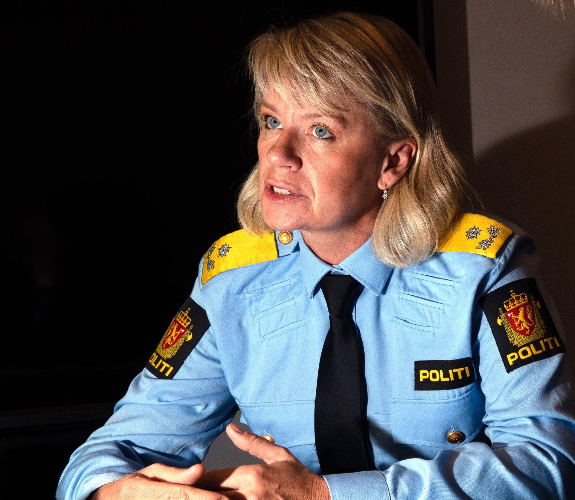IKKE FORNØYD: Visepolitimester Ida Melbo Øystese sier at de nå må se nærmere på kvaliteten av sakene.