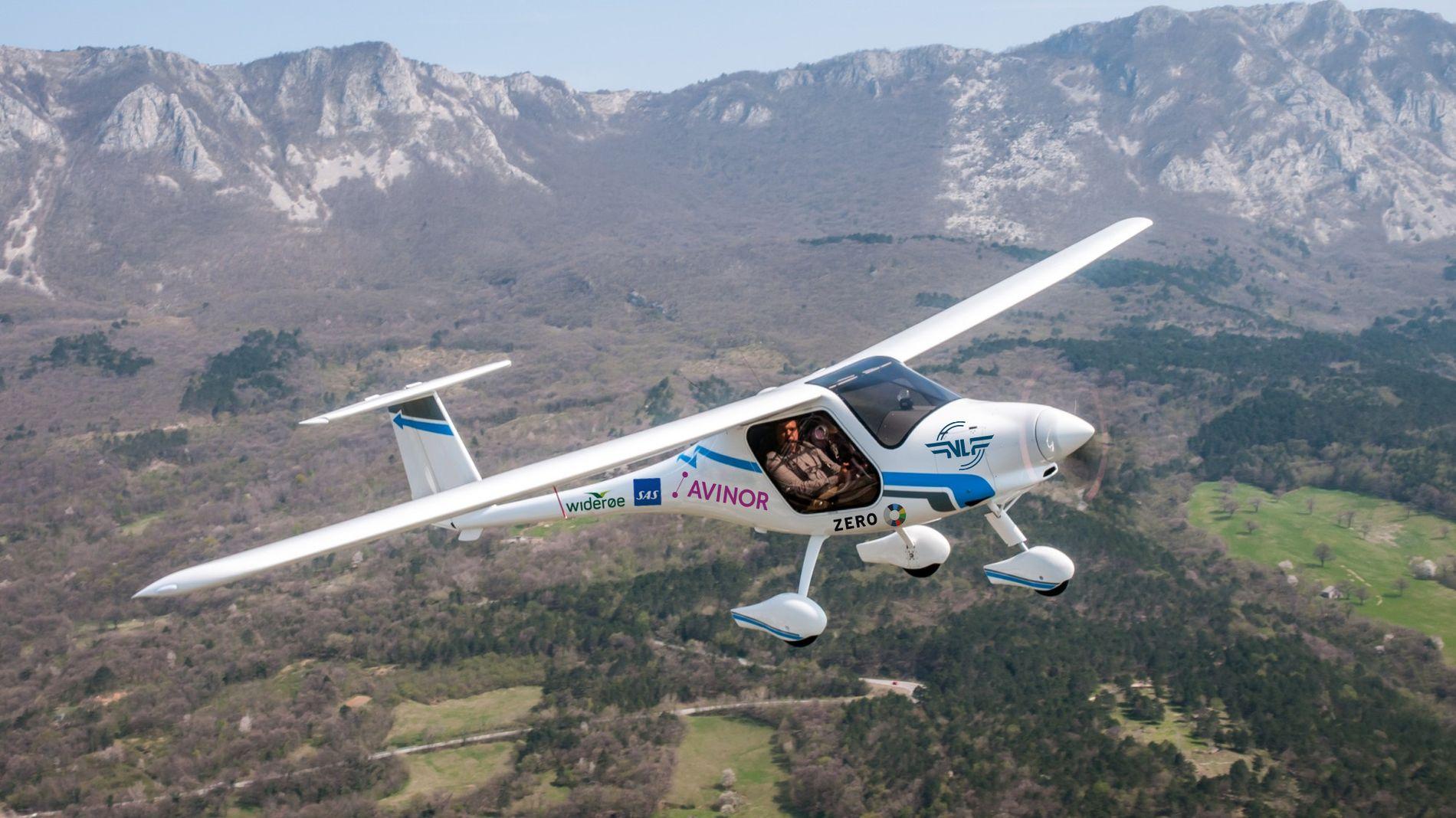 Avinor og Norges luftfartsforbund har bestilt elflyet Alpha Electro G2