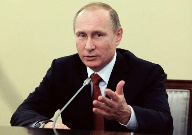 OMSTRIDT: Russlands president Vladimir Putin har undertegnet et lov som gir den russiske grunnlovsdomstolen makt over Den europeiske menneskerettighetsdomstolen.