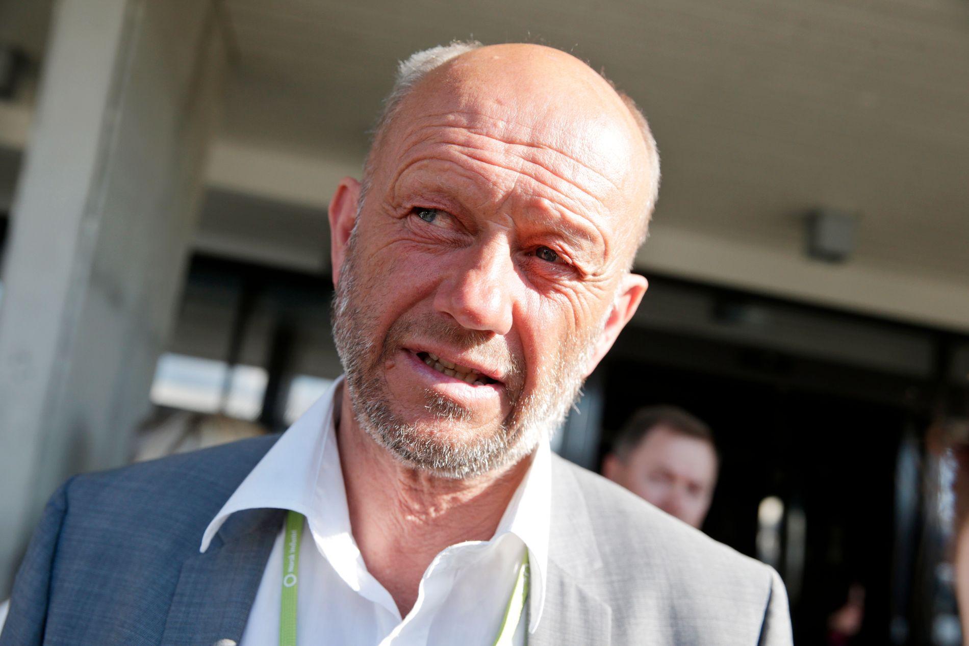 UTFORDRER: Administrerende direktør Stein Lier Hansen i Norsk Industri løfter i dag frem en debatt, som blant annet handler om menn som forblir utenfor jobblivet.