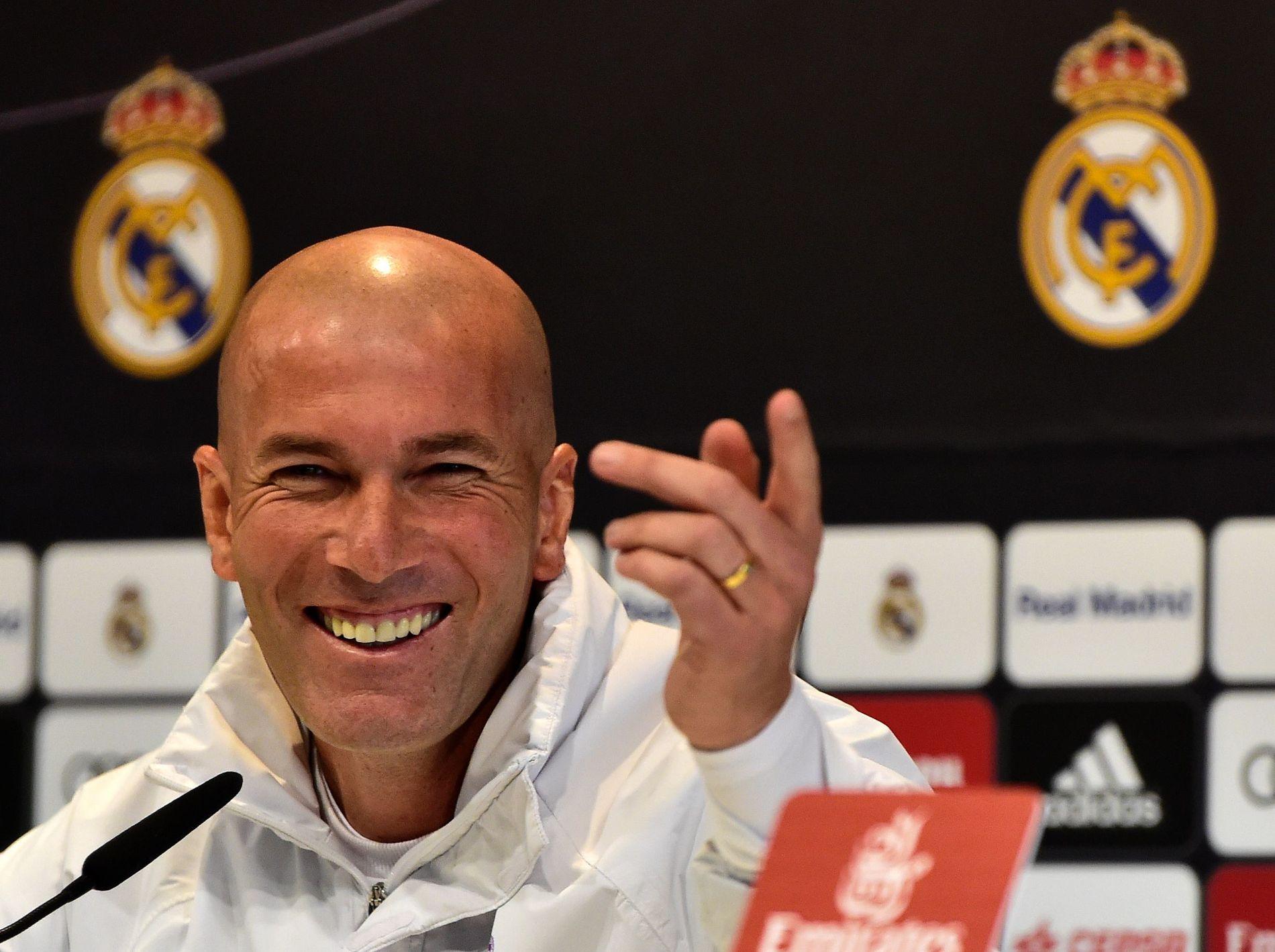 DRØMMESTART: Zinédine Zidane har fått en fabelaktig start på trenerkarrieren i Real Madrid.