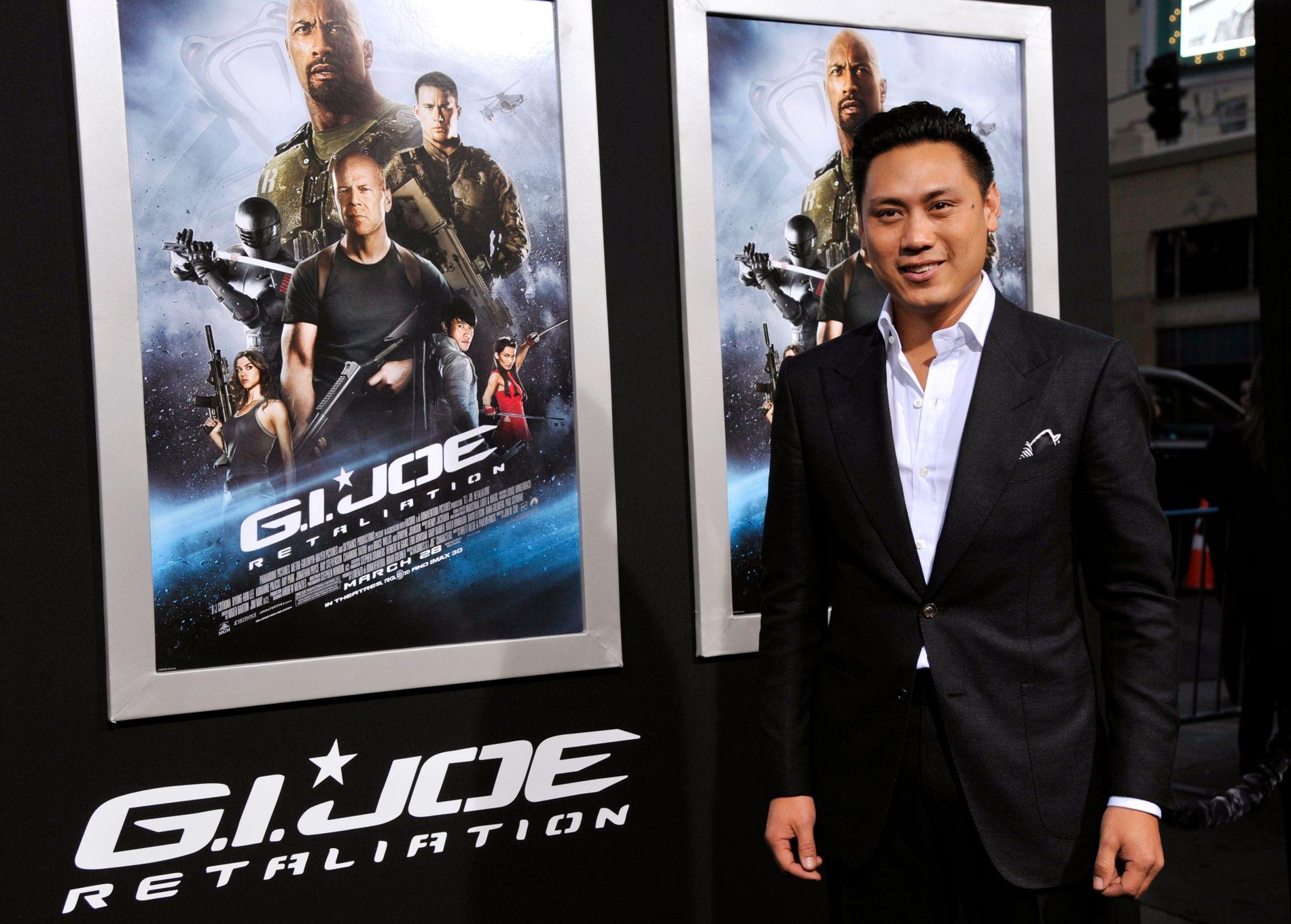 KLAR FOR GROTTEFILM: Regissør Jon M. Chu, her på premieren av «G. I. Joe: Retaliation» i mars 2013.