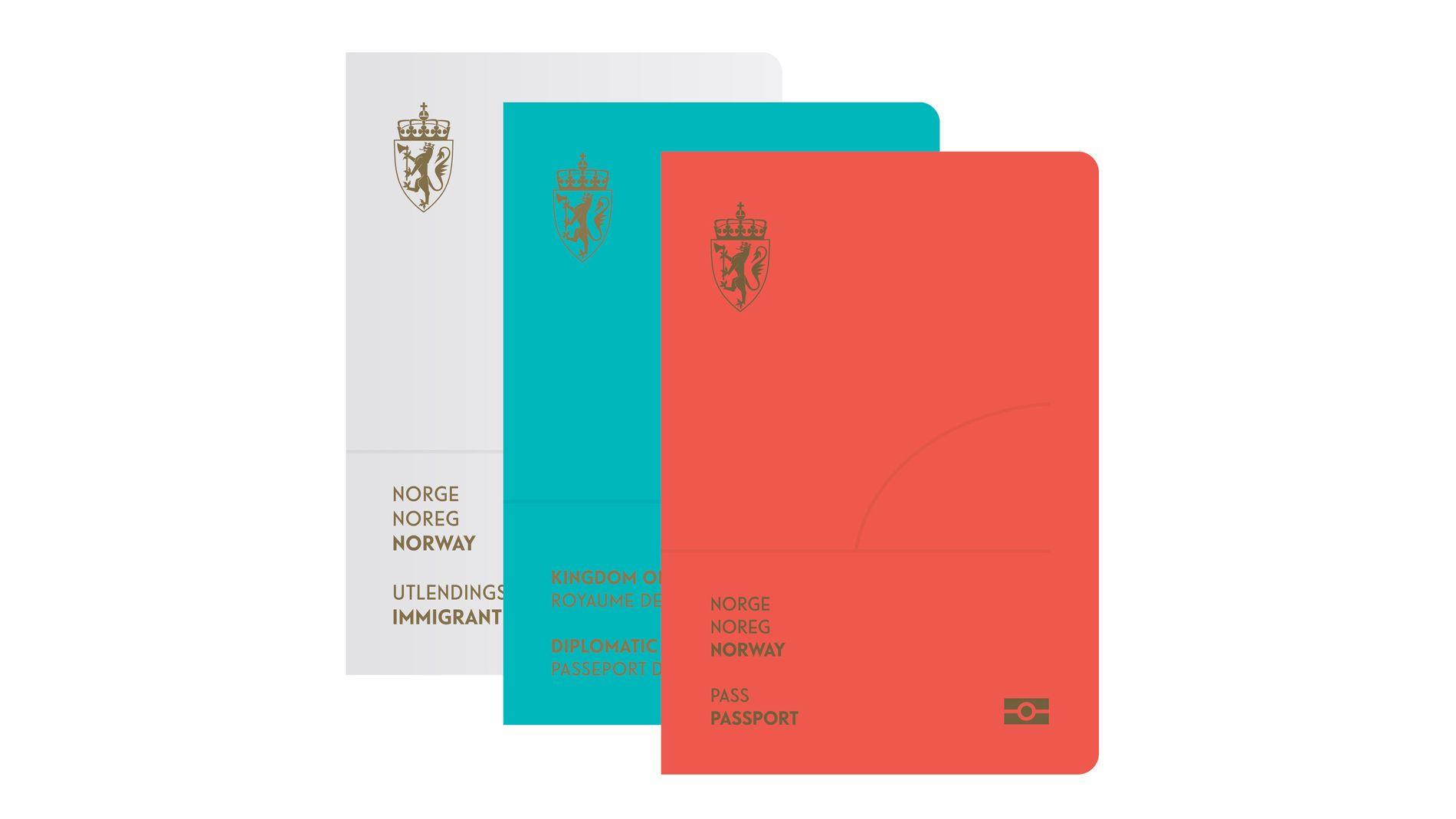 Designet «Det norske landskap» fra Neue Design Studio vant den store konkurransen for ID-kort og nye pass.