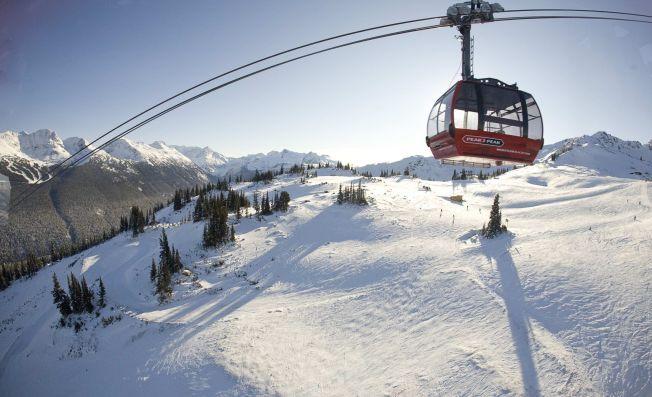 SAVNET SIDEN ONSDAG: Julie Abrahamsen er funnet. Whistler ligger 12 mil nord for Vancouver i Canada, og er et populært vintersportssted og reisemål.