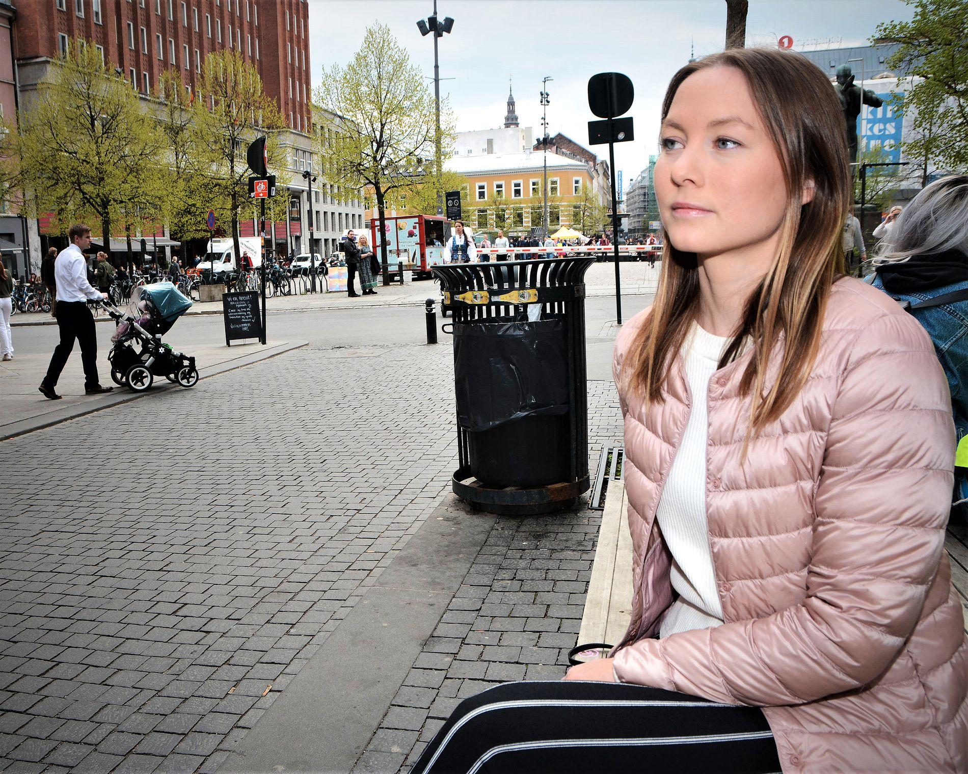 I STREIK: Ingrid Gulstuen Krogh vil fortest mulig tilbake på jobb. Men da må det komme endringer i turnusen, krever hun og kollegaene.