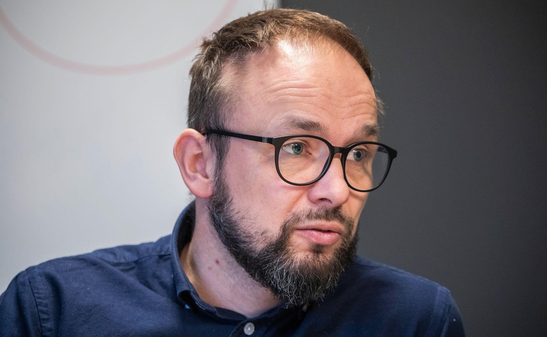 FJERNET FORBRUKSLÅN-KNAPP: Lendo-direktør Ådne Skjelstad sier de valgte å «tone ned det kommersielle» på nettsider som skal informere om gjeldsregisteret.