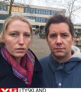 VG I TYSKLAND: Mona Grivi Norman og Jarle Brenna.