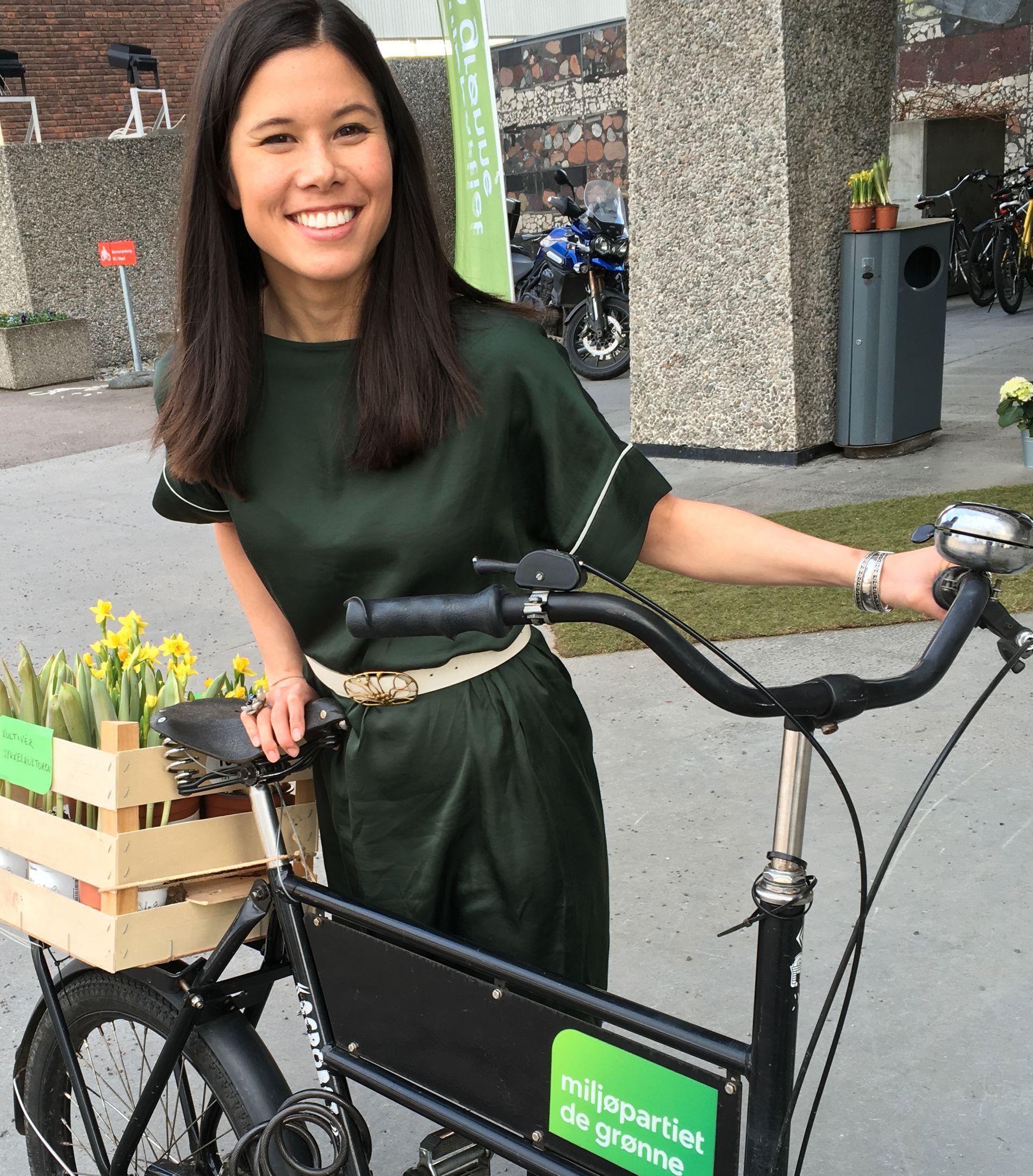 MILJØBYRÅD: Lan Marie Nguyen Berg (MDG) i Oslo kommune.