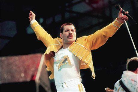 VANT: Freddie Mercury er den ultimate rockeguden.