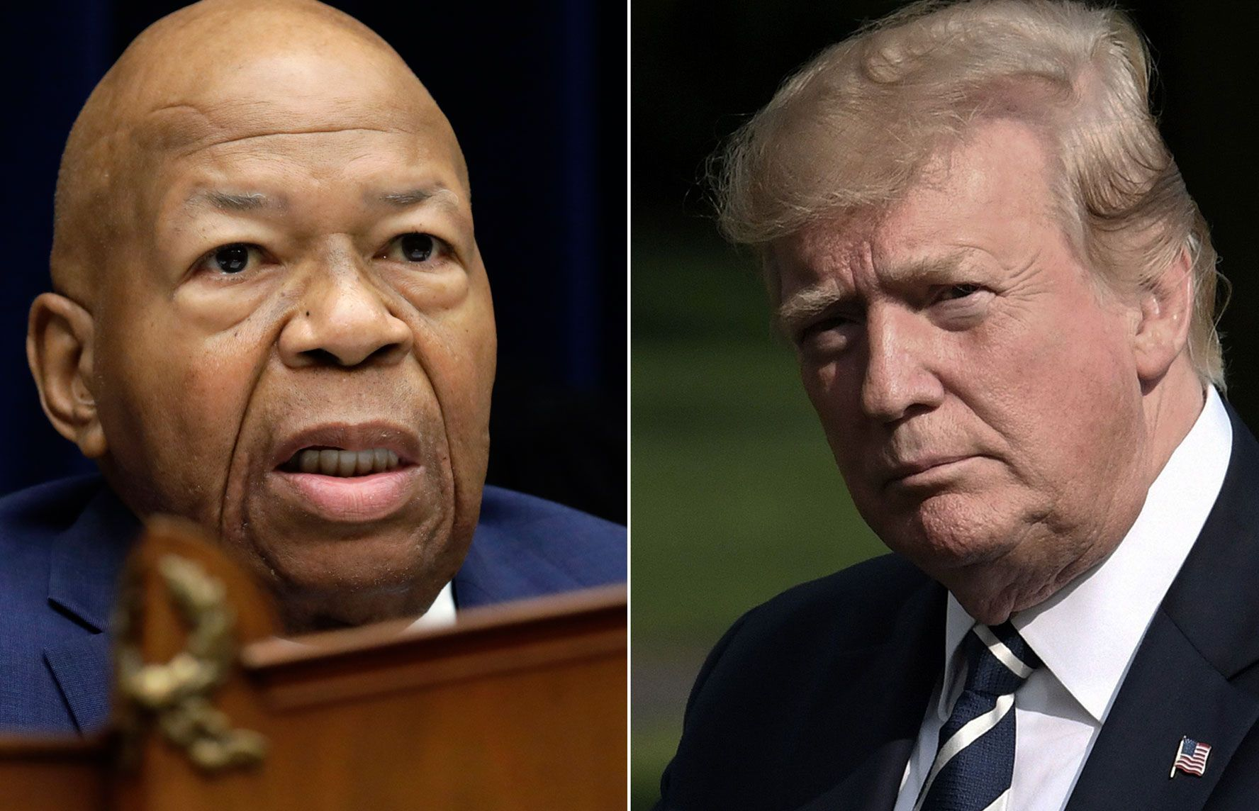 REFSER: Elijah Cummings sier han ikke lenger tviler på at Donald Trump er rasist.