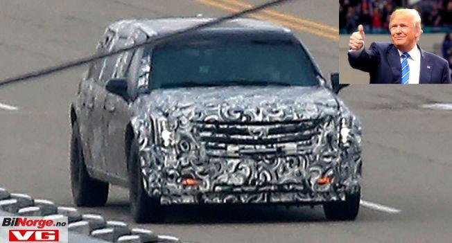 THE BEAST: Det jobbes på spreng hos Cadillac for å få den nye presidentbilen klar til innsettelsen av Donald Trump i januar.