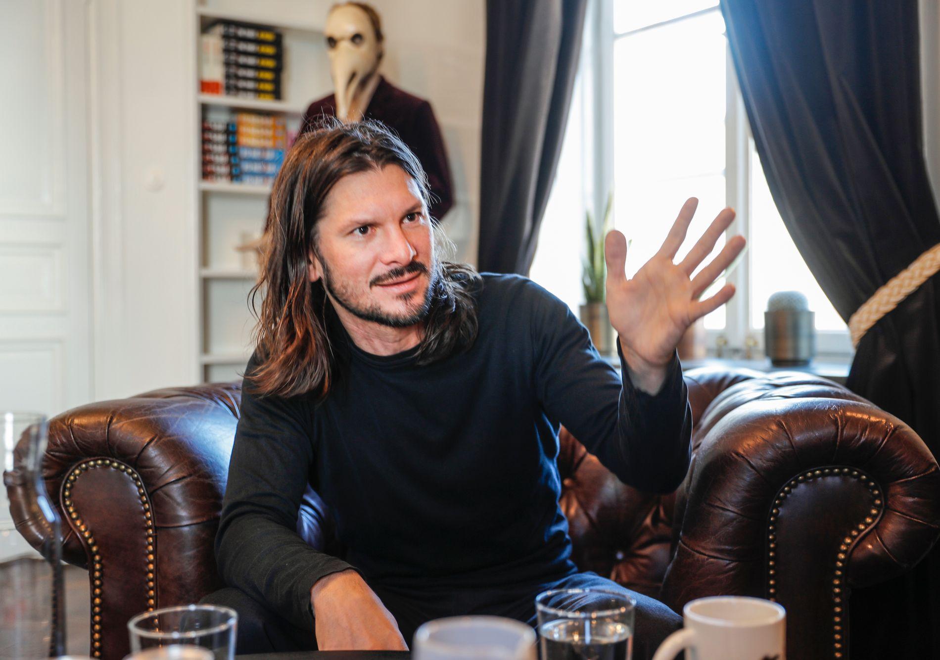 GÅR HARDT UT: Niclas Salomonsson tror svært få nystartede agentbyråer overlever.