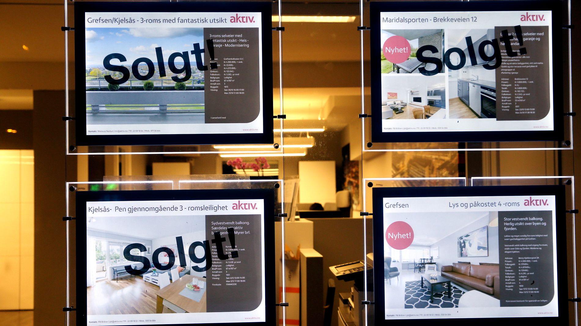 TROR PÅ FALL: Sjefstrateg Peter Hermanrud i Sparebank 1 Markets sier at et boligprisfall kan ha store konsekvenser for økonomien.