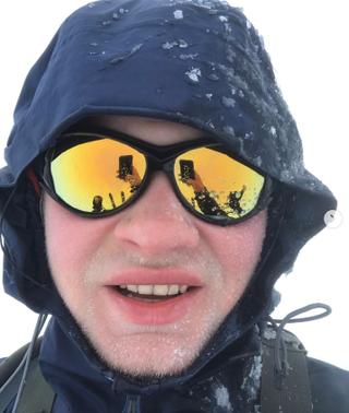 Markus deler mye fra reisen på sin instagramkonto @m4lmin