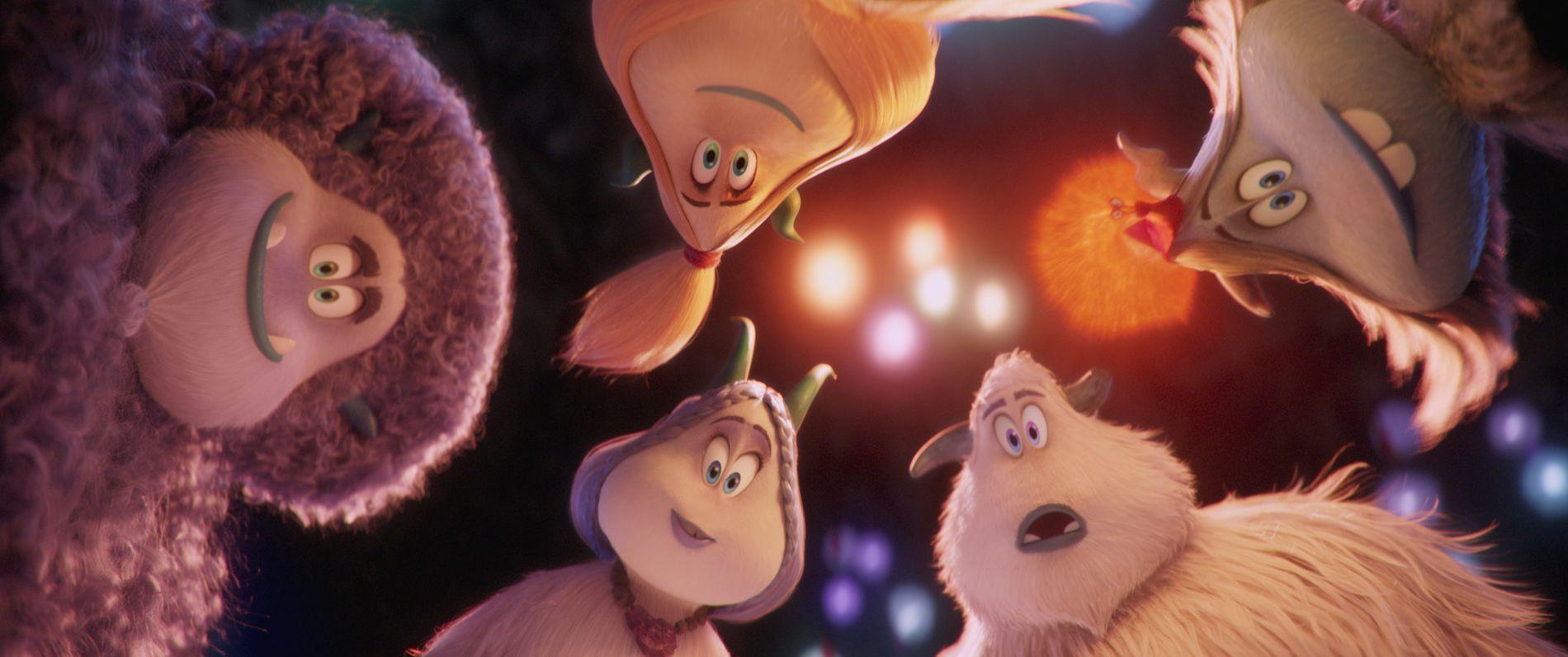 NYSGJERRIGE PÅ KUNNSKAP: Yeti-gjengen i «Smallfoot».