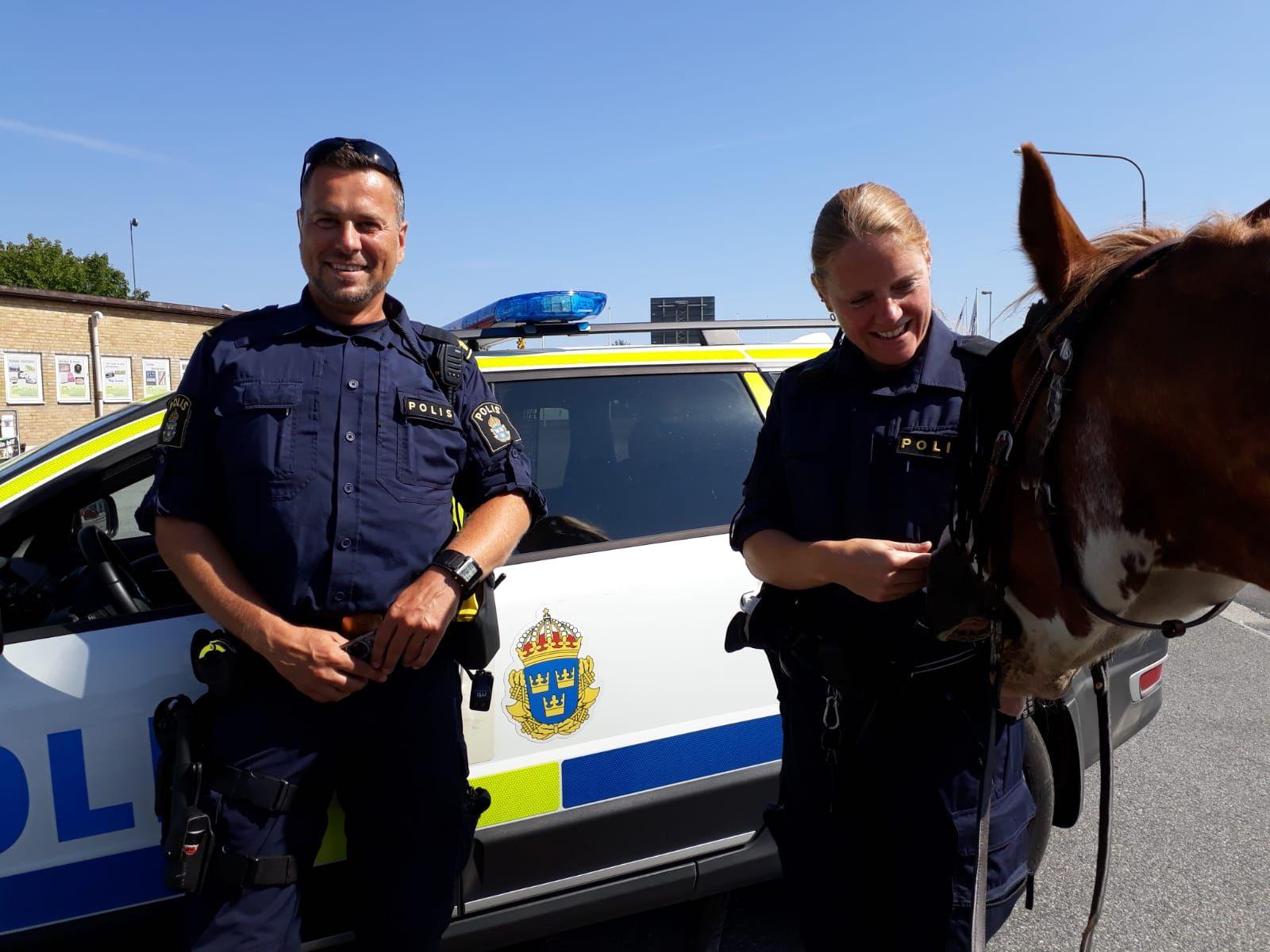 SVERIGE: Svensk politi ville hilse på Bento i Sverige.