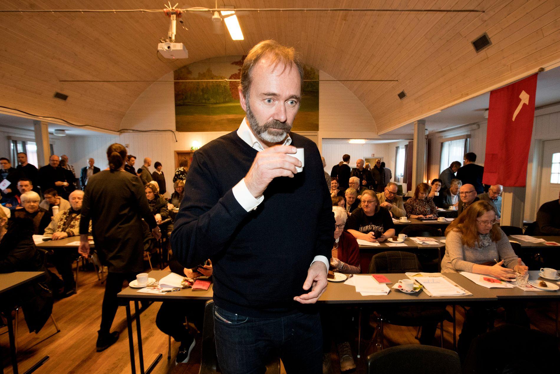 KRITISERT: Flere reagerer på at Trond Giske deltok på påskefesten til «Løvebakken AUF» tidligere i april.
