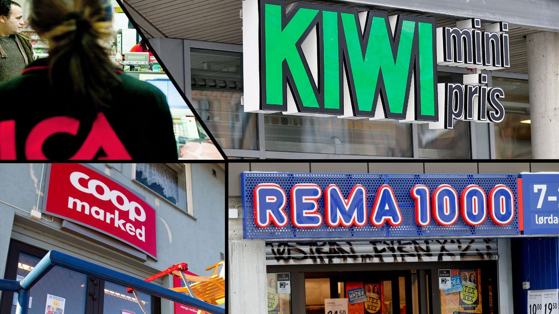 57bee4629 Tror 1.000 norske matbutikker vil dø