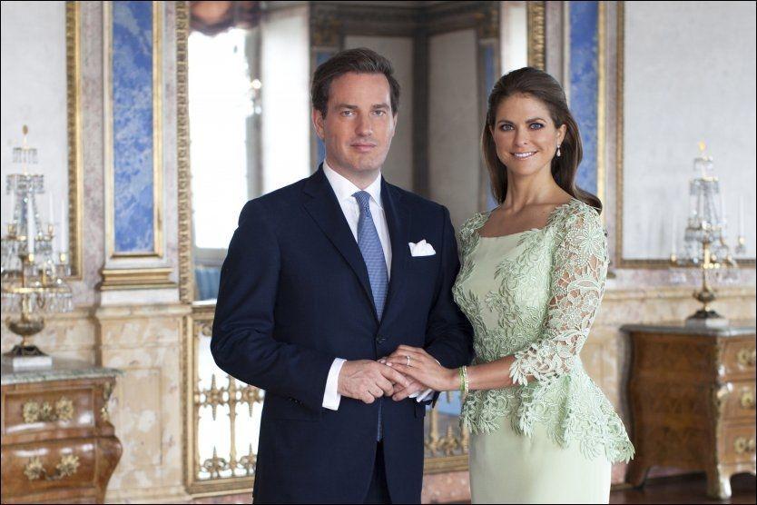 59e41ed5 DEN STORE DAGEN: Nå er det kun timer igjen før prinsesse Madeleine og Chris  O'Neill sier ja til hverandre i kirken. Foto: Kungehuset.se