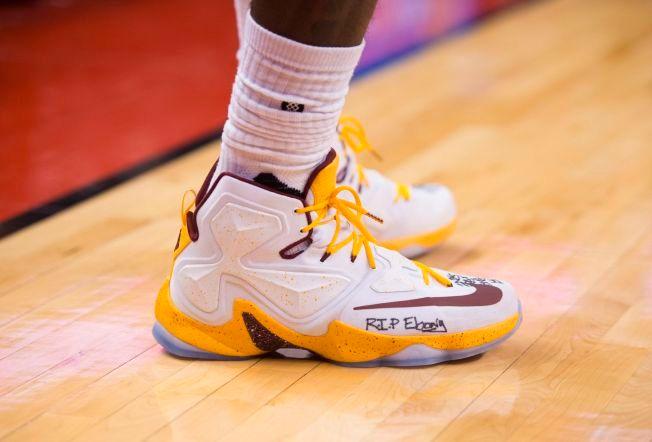 on sale 04456 77057 AIR BRON  Nikes utgave av «LeBron-skoen» har nå nådd sin 13. utgave.  Fortsatt gjenstår det mange versjoner for å ta igjen ikoniske «Air  Jordans», ...