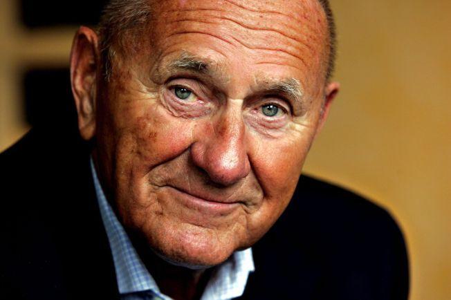 GIKK BORT: Idrettspsykolog og motivator Frank Beck gikk bort tirsdag. Han ble 87 år gammel.