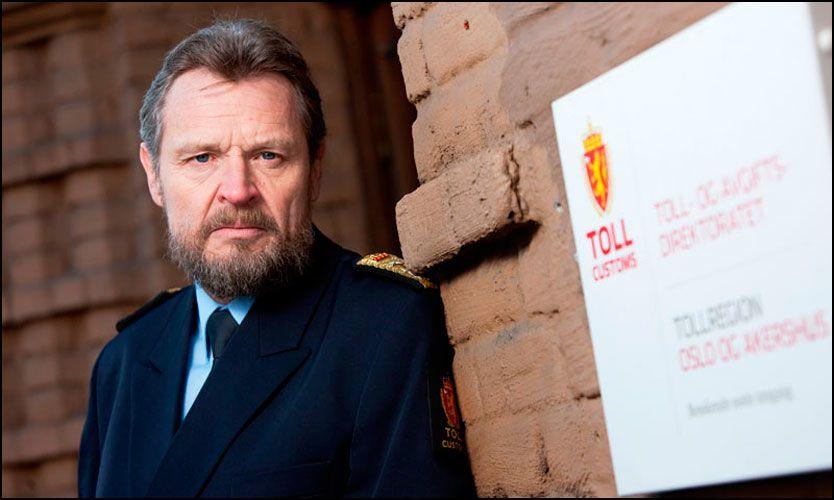 VIL HA MER MAKT: Toll- og avgiftsdirektør Bjørn Røse ønsker høyere strafferammer for piratkriminalitet, og vil også ha beslagsrett. (Foto: Morten Brakestad/Tollvesenet)