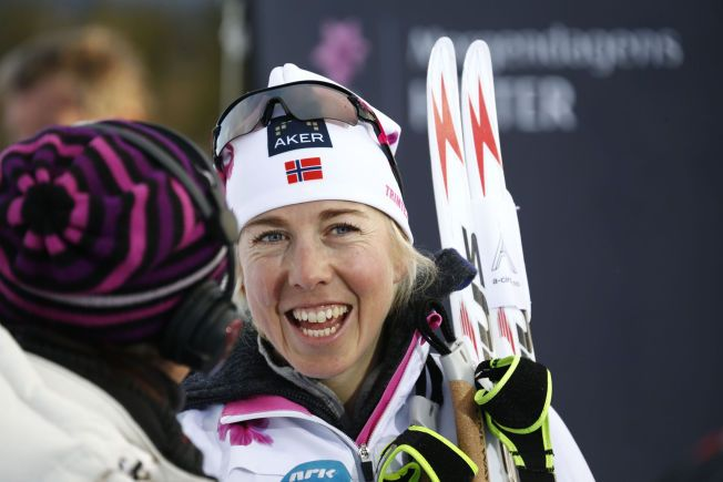 SLUTTER: Kristin Størmer Steira under langrennsåpningen på Beitostølen forrige sesong.