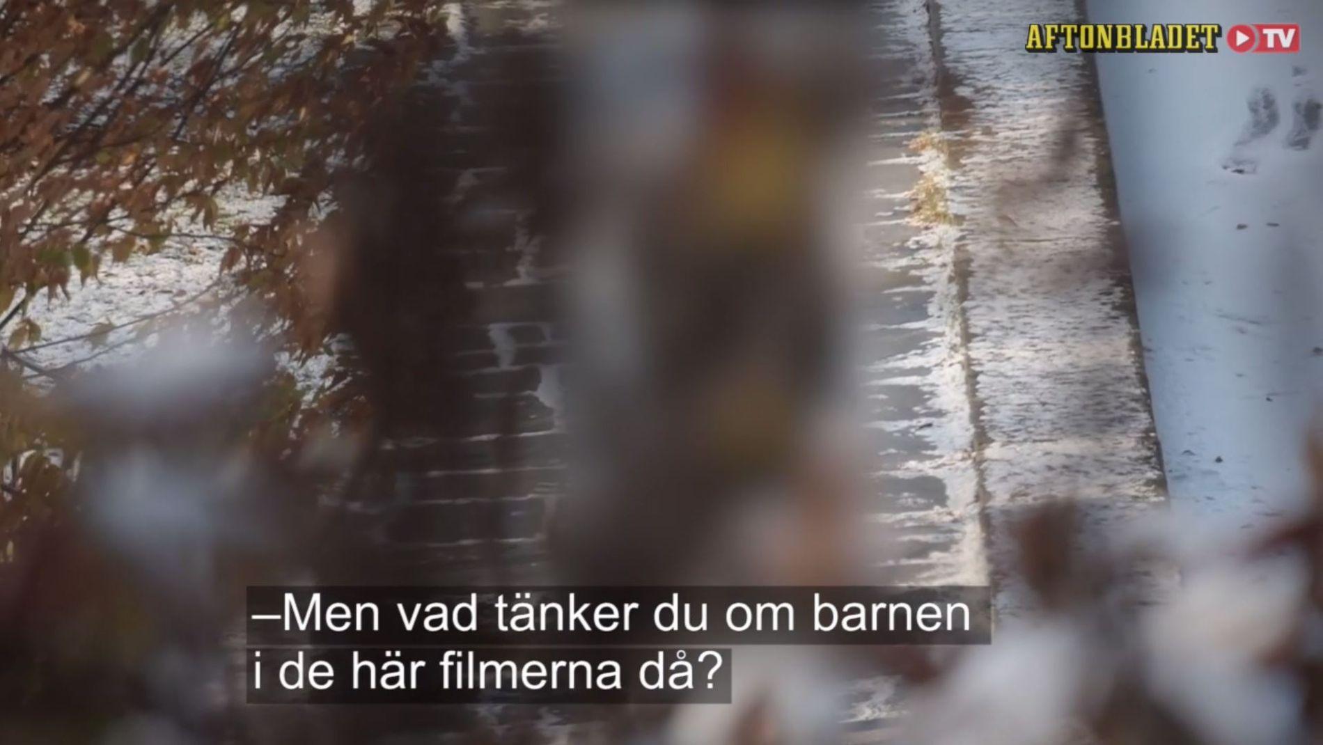 BEDRIFTSLEDER: Det svenske graveteamet har avslørt 72 menn som har lastet ned overgrepsmateriale. Blant annet denne bedriftslederen. FOTO: Skjermdump fra videodokumentar