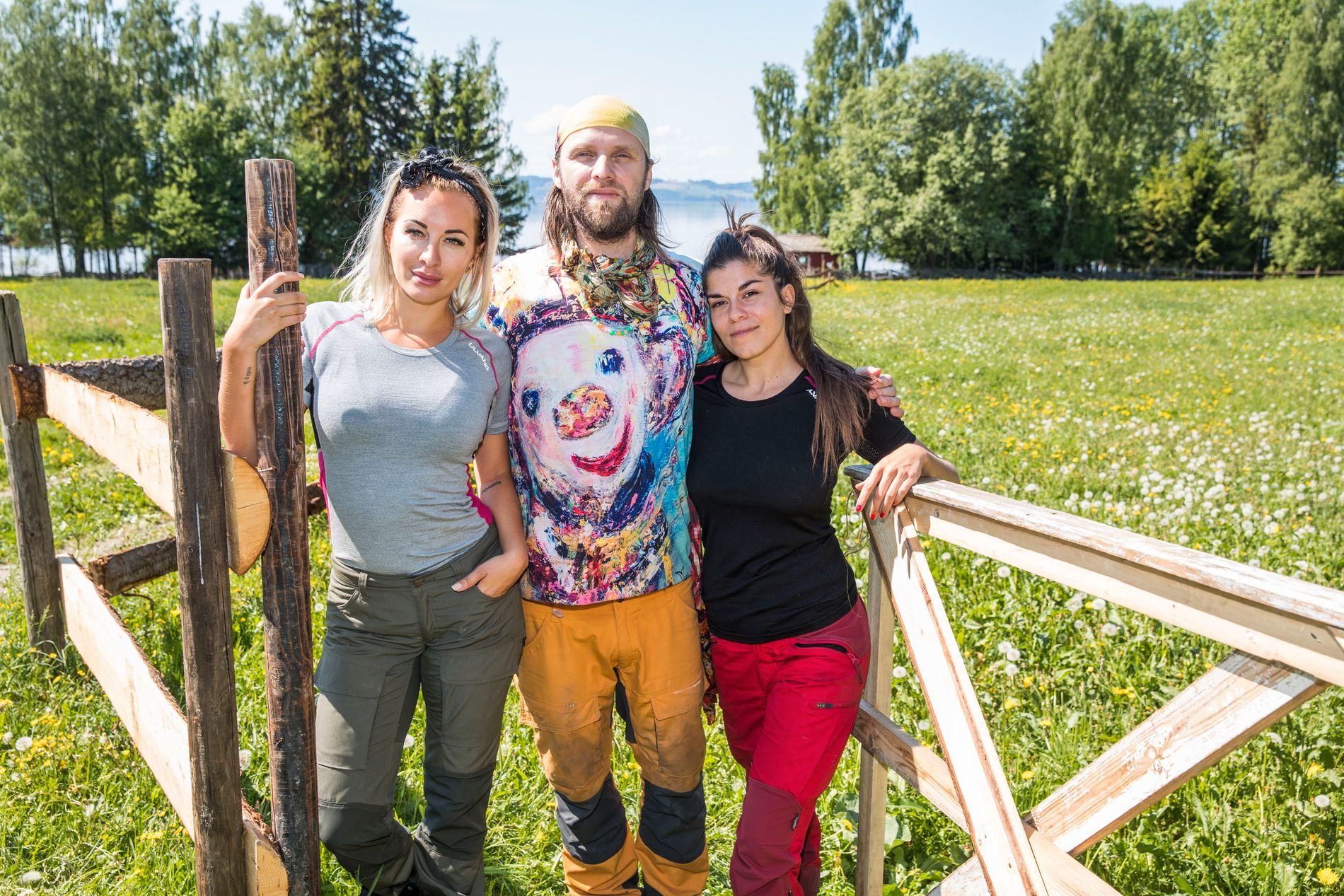 GIKK HELT TIL TOPPS: Carina Dahl vant sidekonkurransen «Torpet» i konkurranse med blant andre Aune Sand og Kristin Gjelsvik. Det sikret henne plass i «Farmen kjendis».