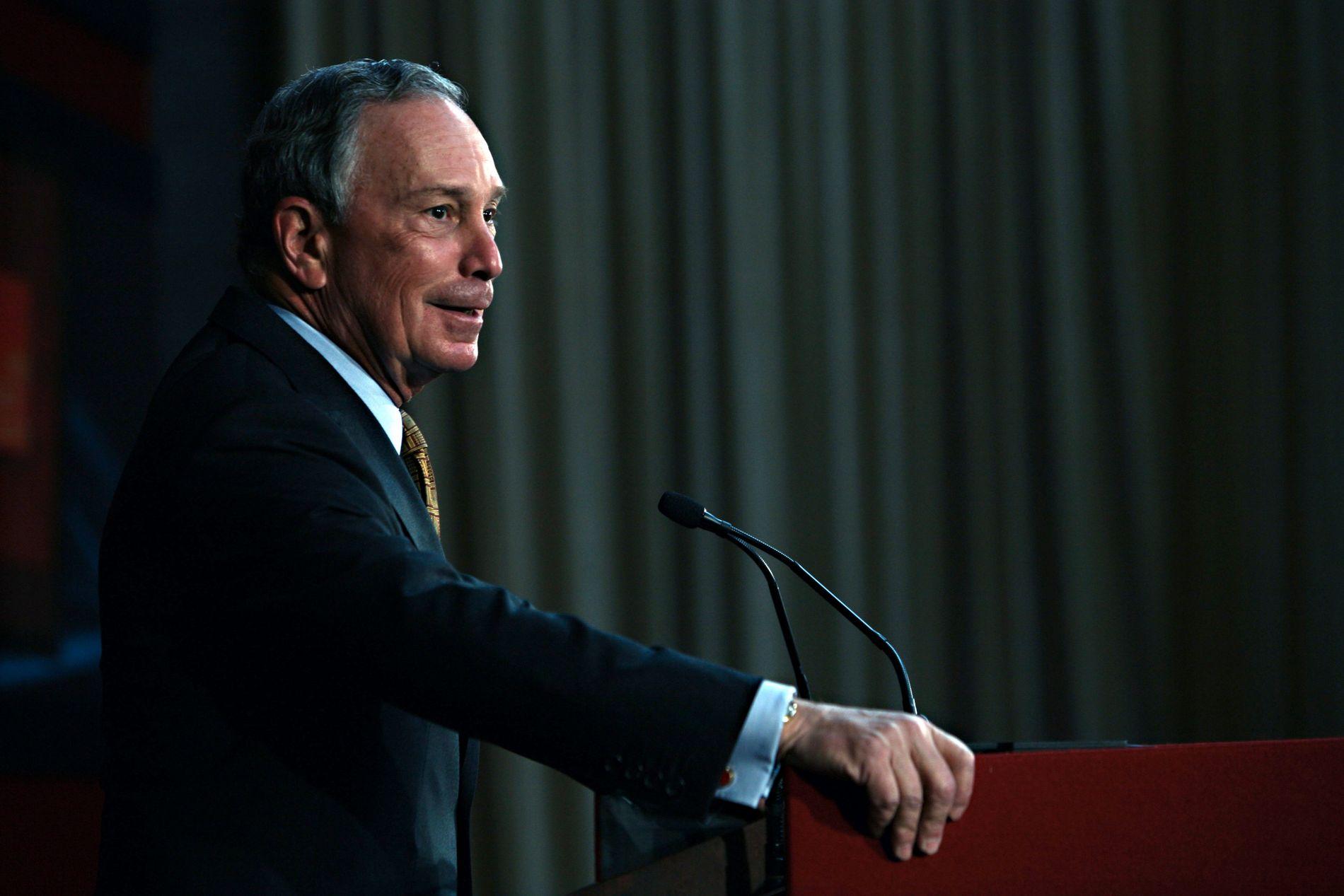 BLOMSTRET: Michale Bloomberg vil være nesten 80 ved neste presidentinnsettelse.