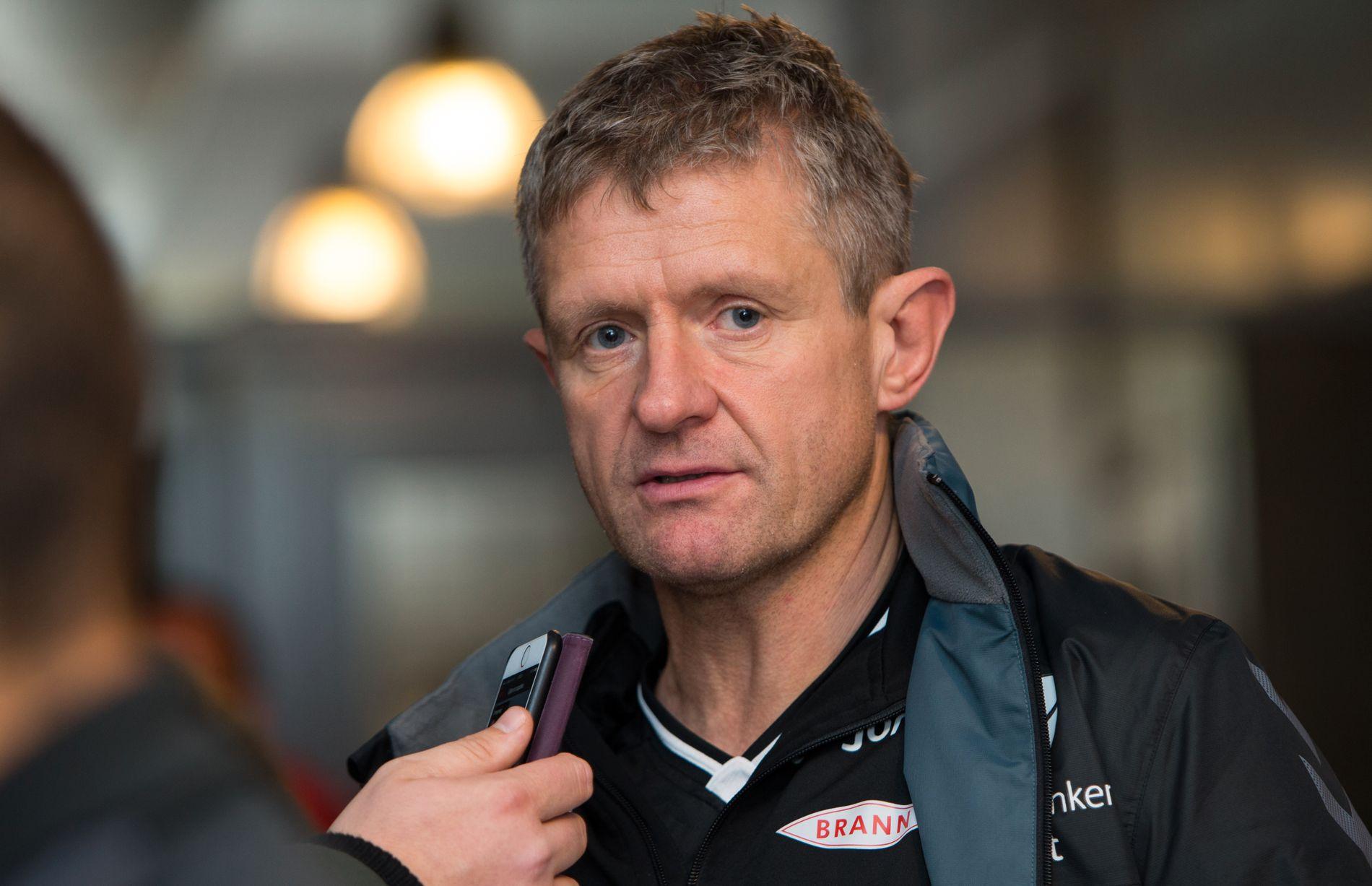 HÅPER PÅ BEDRING: Lars Arne Nilsen håper den skadde Brann-supporteren kommer seg etter ulykken.