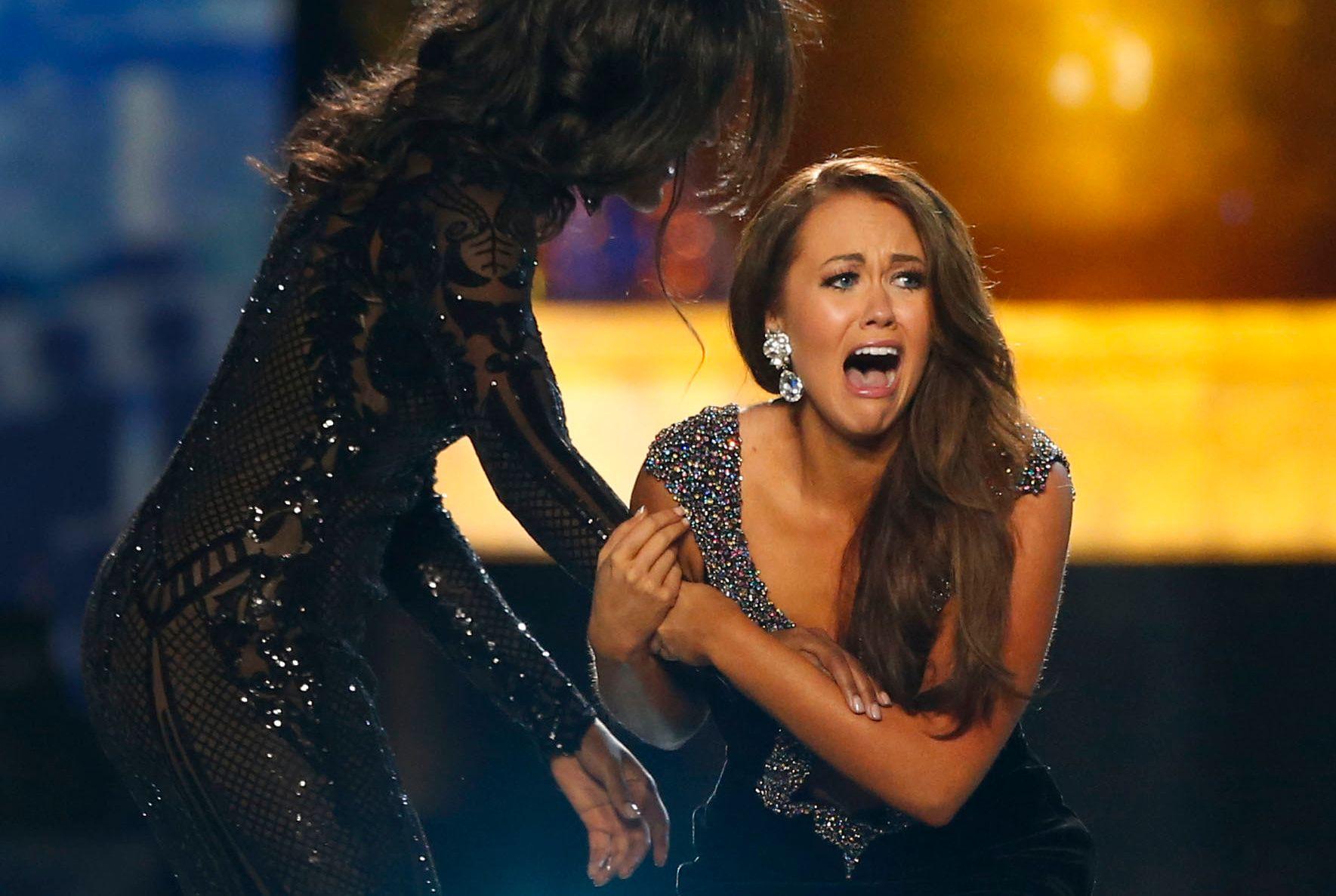 KNAKK SAMMEN: Cara Mund er den første fra Nord-Dakota til å vinne Miss America.