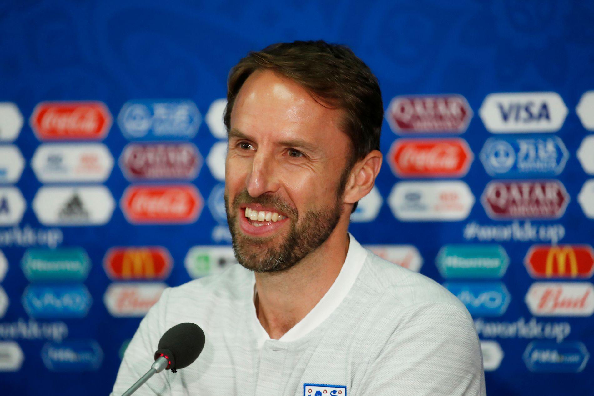 KAN HAN GJØRE DET? Gareth Southgate er mannen som har ansvaret for de engelske VM-drømmene denne sommeren.