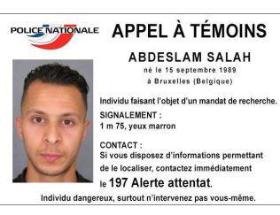 ETTERLYSNINGEN: Salah Abdeslam (26) er nå etterlyst over hele verden.