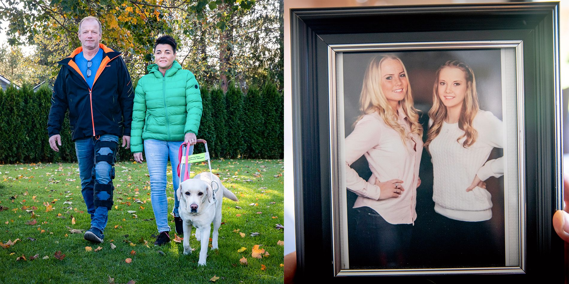 «Farmen»-Terjes kone Åse Line ble blind - har aldri sett sin yngste datter