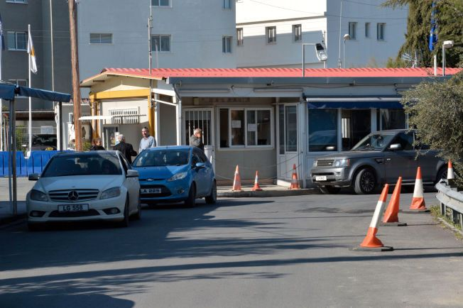 PÅGREPET HER: Espen Lee og to andre norske menn ble arrestert på den greske delen av Agios Dometios, på grensen mellom den greske og tyrkiske delen av Nikosia.