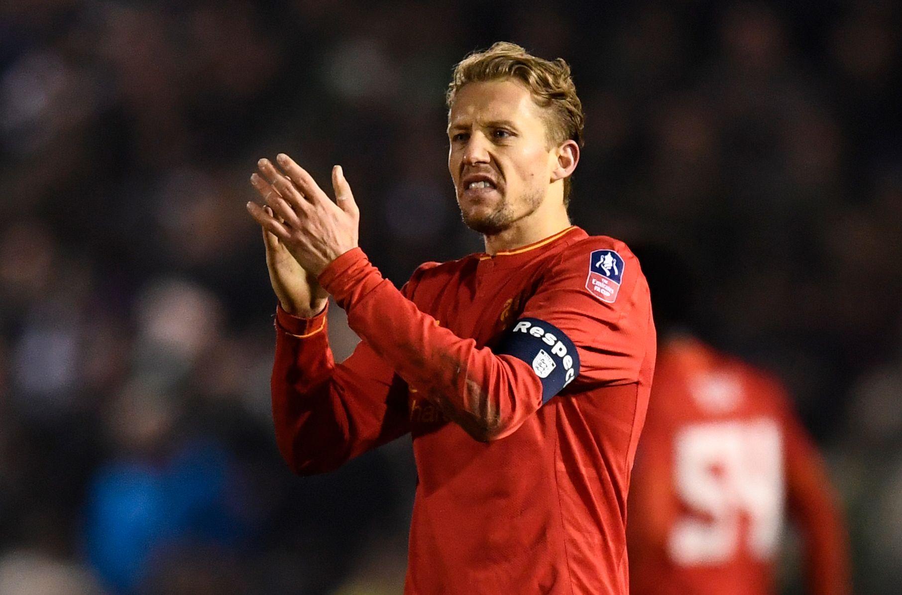 DRO TIL ITALIA: Lucas var i Liverpool en årrekke - men dro til Lazio foran forrige sesong.