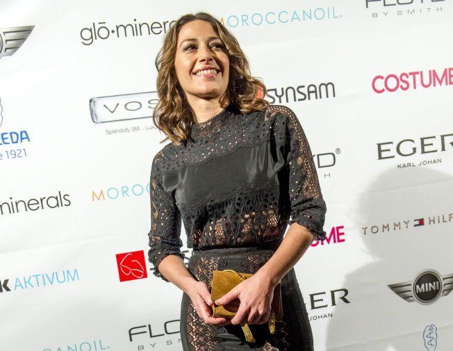NYBAKT TVILLINGMOR: Skuespiller Pia Tjelta, her på Costume Awards tidligere i år.