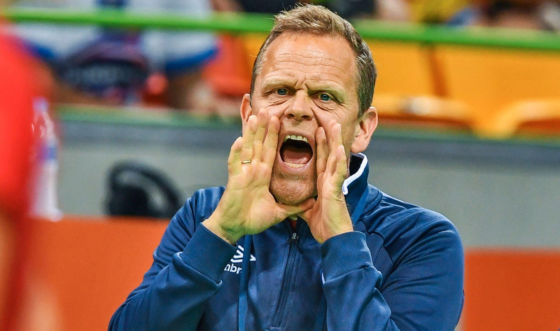 PÅ GULLJAKT: Thorir Hergeirsson kan lede Norge til mesterskapsgull for sjette gang. Her fra OL i Rio tidligere i år.